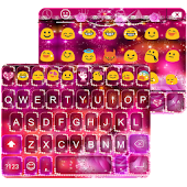 Star Light Emoji Keyboard Skin