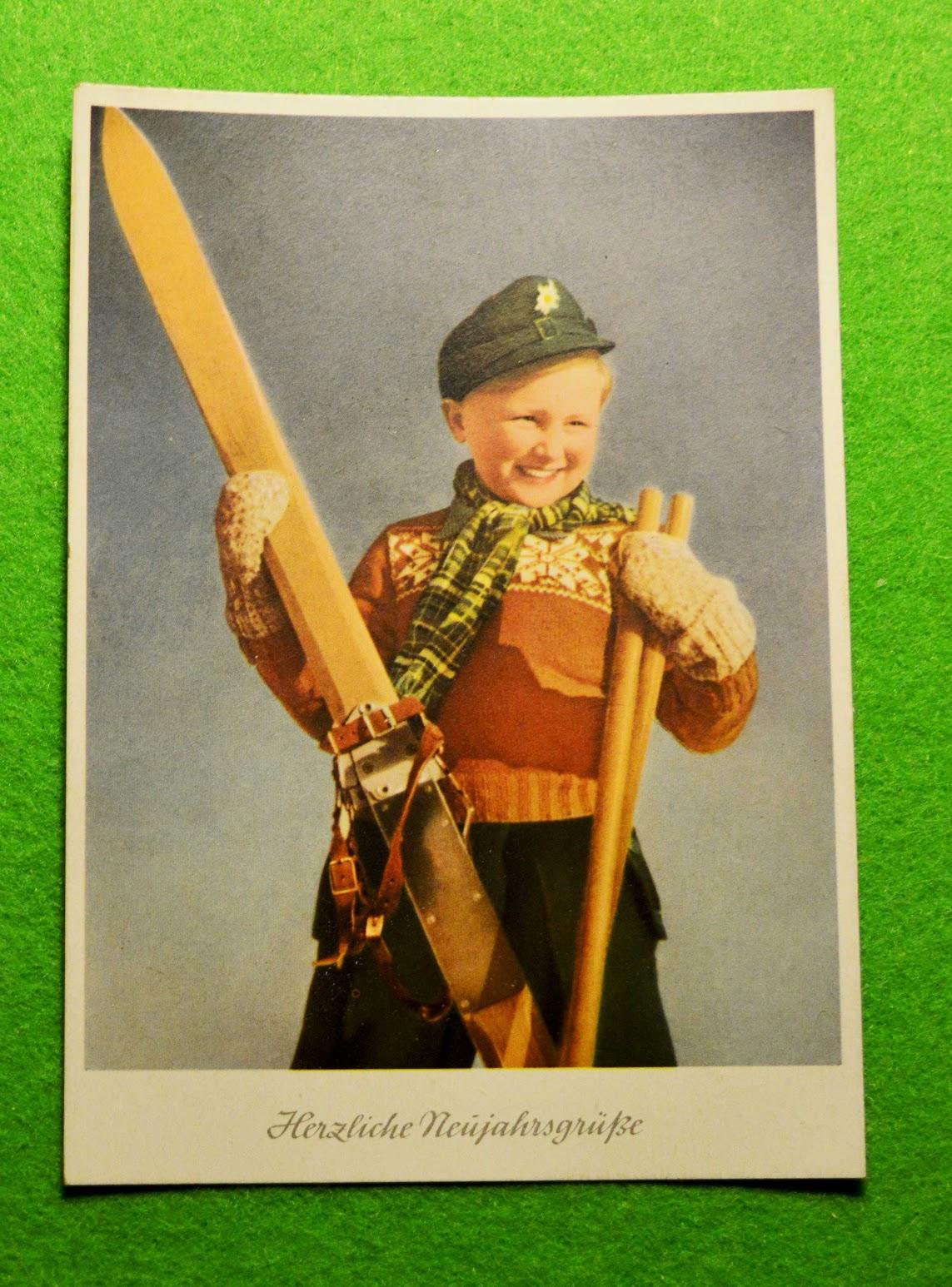 Neujahrskarte aus der jungen DDR
