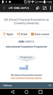 ONCAMPUS Coursefinder- screenshot thumbnail