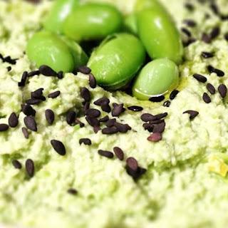 Cilantro Edamame Hummus