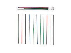 PLA Strands for 3Doodler Variety Pack 40 Strands - 3.00mm