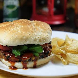 Barbecue Zucchini Burger.