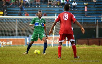 Photo: Captain Umara 'Zingalay' Bangura  [Leone Stars v Seychelles, Freetown, 19 July 2014 (Pic: Darren McKinstry)]