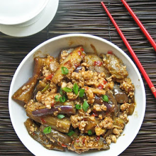 Spicy Sichuan Eggplant