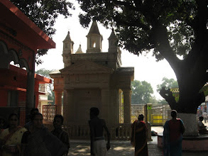 Photo: Samadhi Mandir of Baba Lokenath (the rear view)