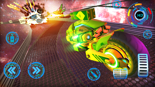 Space Bike Galaxy Race 1.0.2 screenshots 9