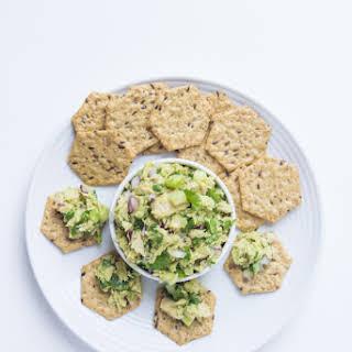 Healthy Avocado Tuna Salad.