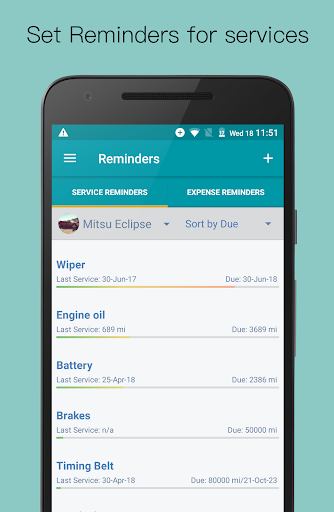 Simply Auto: Car Maintenance & Mileage tracker app screenshot