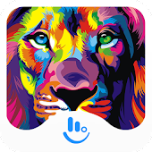 Color Lion Keyboard Theme