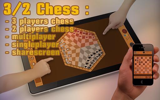 3 2 Chess: Three Players Chess