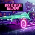 Back to Future Wallpaper icon