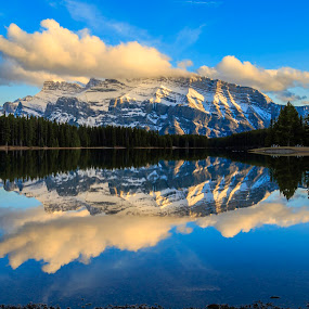 Two Jacks II by Nico Carbajales - Landscapes Mountains & Hills