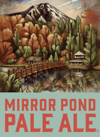 Logo of Deschutes Mirror Pond Pale Ale