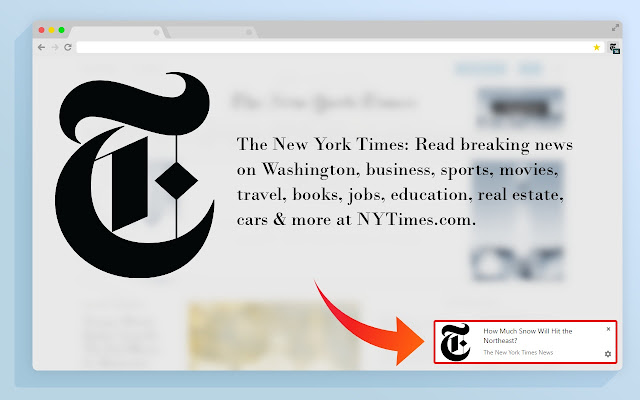 the new york times news chrome web store