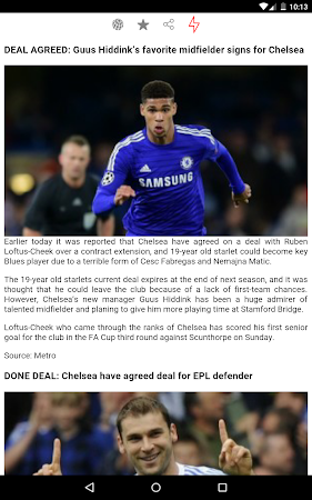Latest Chelsea News & Transfer 5.6 screenshot 978526