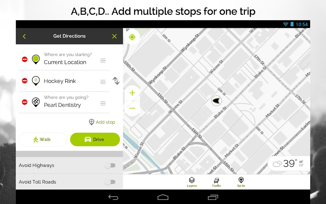 #19. MapQuest GPS Navigation & Maps (Android)