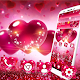 Red Shine Heart Sparkle Theme for PC-Windows 7,8,10 and Mac