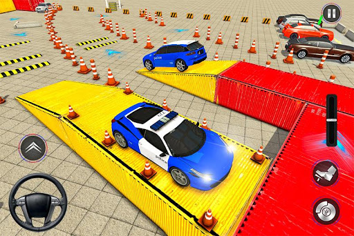 Modern Police Car Parking 2020: Multi Level Parker painmod.com screenshots 2