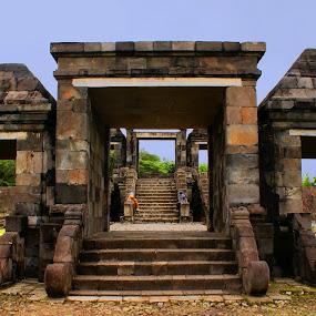 Boko Temple by Mulawardi Sutanto - Buildings & Architecture Public & Historical ( temple, yogyakarta, indonesia, boko, travel )
