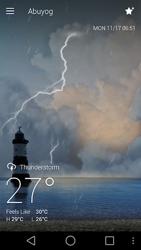 Classic GO Weather Background screenshot 2