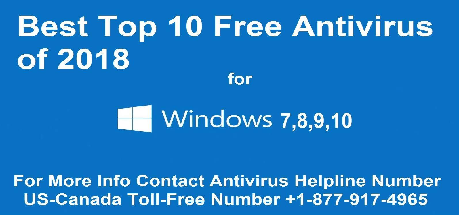 best top 10 free Antivirus
