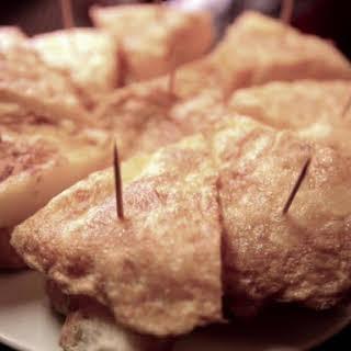 Tortilla de Patata (Spanish Potato Omelet).