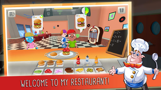 Math Burger: Kids Math Game