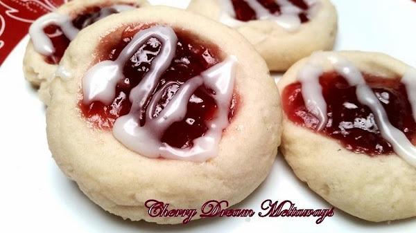 ~ Cherry Dream Meltaways ~ Recipe