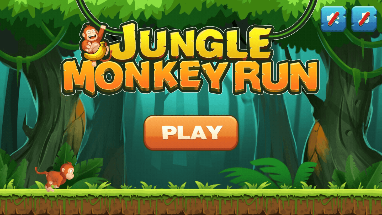 Jungle Monkey Run Android Apps On Google Play