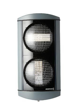 Alustar 200 mm 2-lys -/I bus signal opadvendt