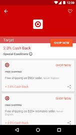 Ebates Cash Back & Coupons Screenshot 3