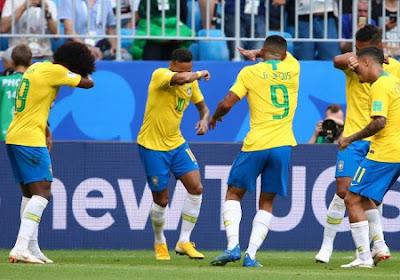 En quart de finale, la Belgique jouera contre le Brésil pour la cinquième fois de son histoire