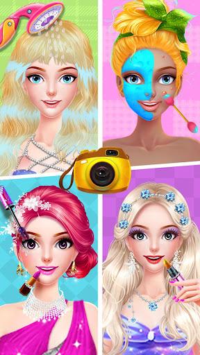 ud83dudc84ud83dudc57Cinderella Fashion Salon - Makeup & Dress Up screenshots 14