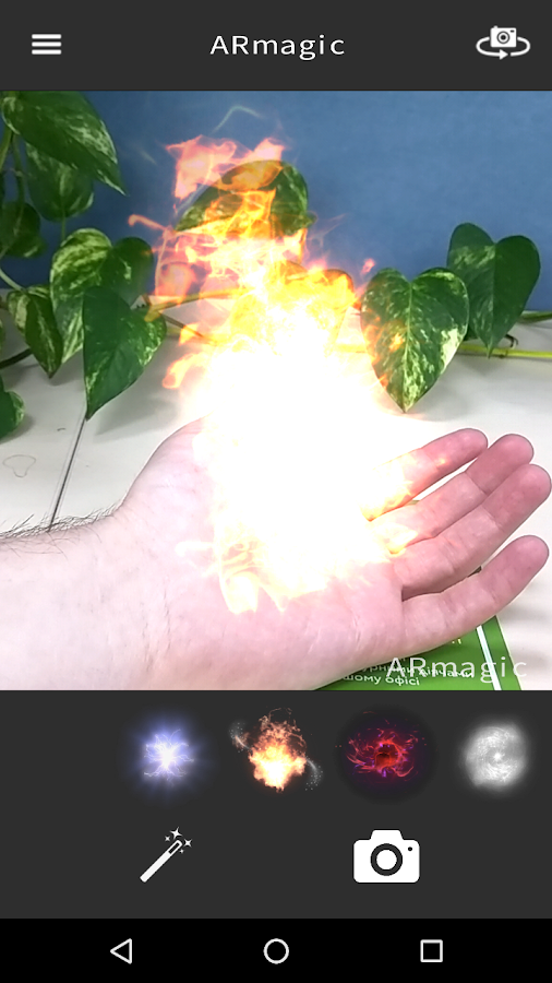 ARmagic: Magic Photo Effects