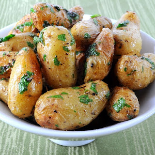 Pressure Cooker Roasted Baby Potatoes