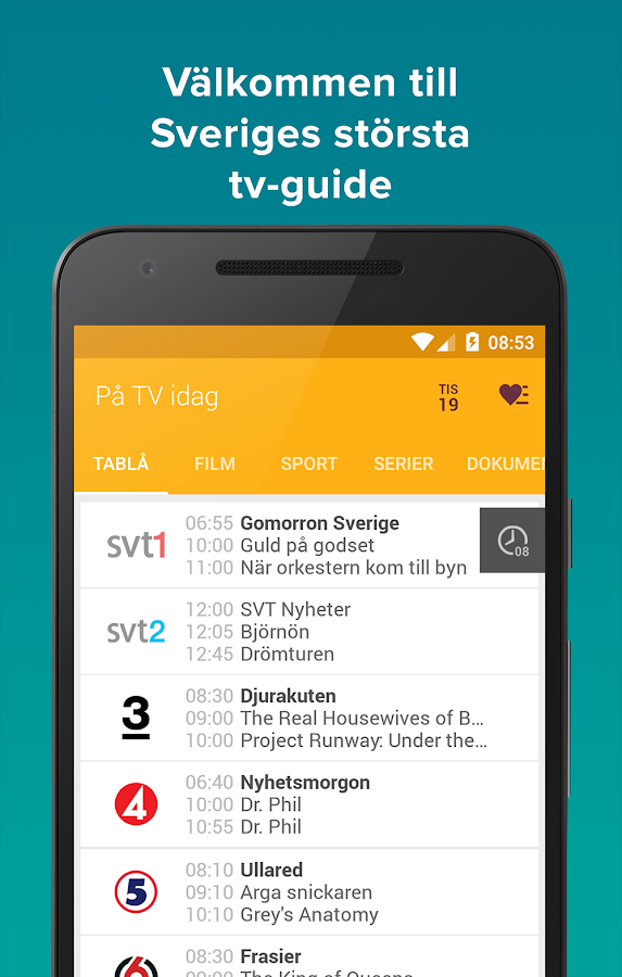 tv.nu- screenshot