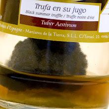 Photo: TRUFA EN SU JUGO (TUBER AESTIVUM) MANJARES DE LA TIERRA