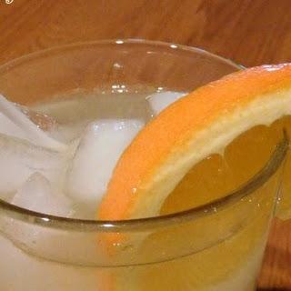 Orange Vodka Tonic.