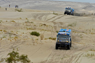 Photo: MOTORSPORT - DAKAR PERU CHILE ARGENTINA  2013 - STAGE 11 / ETAPE 11 - LA RIOJA (ARG) TO FIAMBALA (ARG) - 16/01/2013 - PHOTO : ERIC VARGIOLU / DPPI - .