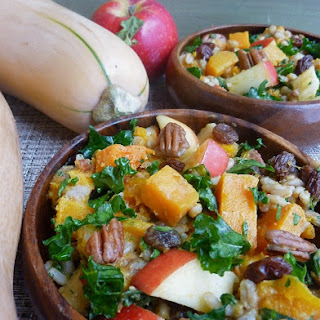 Autumn Barley-Butternut Squash Salad