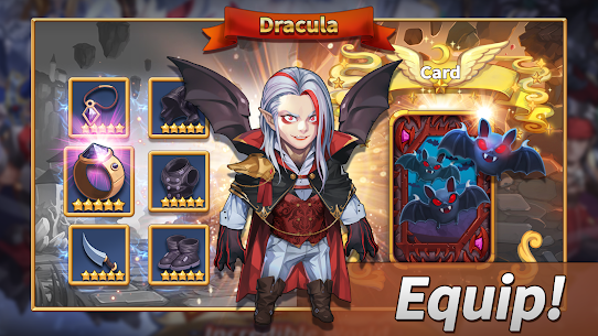 WITH HEROES – IDLE RPG MOD Apk 44 (Unlimited Money) 4