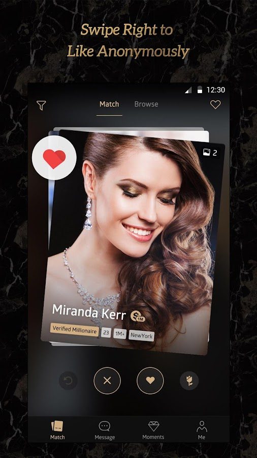 Luxy - Millionaire Dating- screenshot