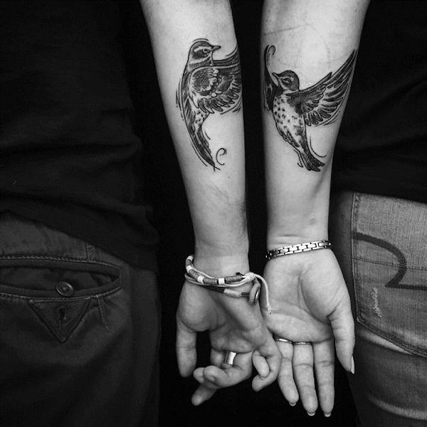 34 Tatuajes De Amor Ideales Para Parejas - Tatuaje-parejas
