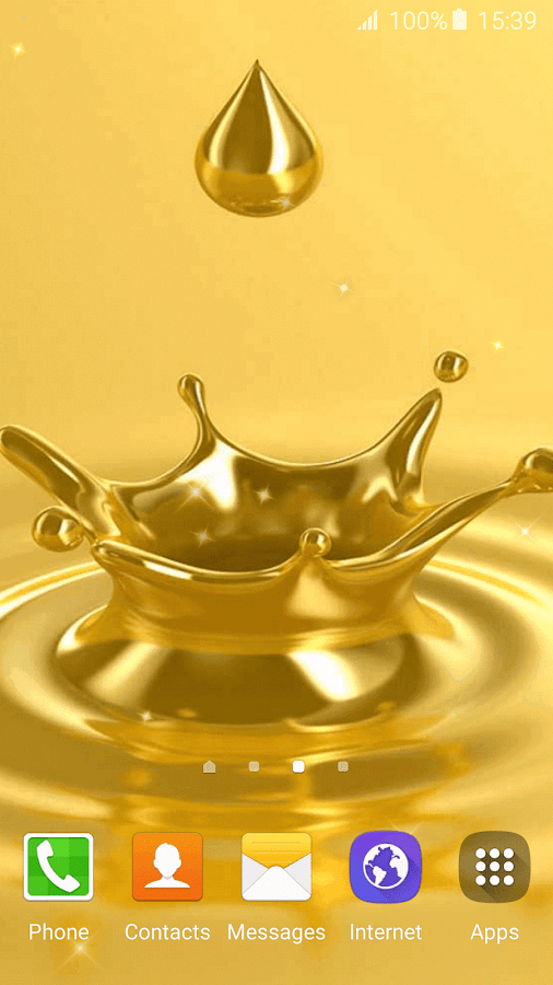 Gold live wallpapers android apps on google play - Gold wallpaper for android ...