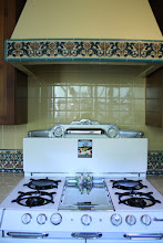 Photo: Barron Kitchen - Decorative Tile Backsplash & Range Hood Pvt. Residence W. Los Angeles, CA