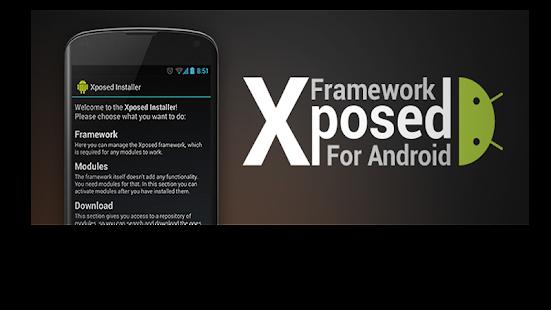 Xposed Installer - náhled