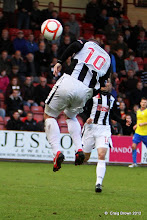 Photo: Dunfermline Athletic v Morton Irn Bru First Division East End Park 20 October 2012Ryan Wallace makes it 2-2(c) Craig Brown | StockPix.eu