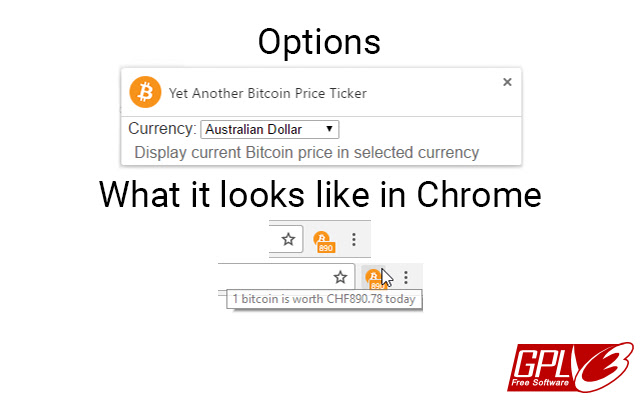 Yet Another Bitcoin Price Ticker