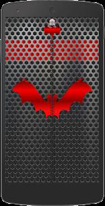 Metal Bat Zip Screen Lock screenshot 0