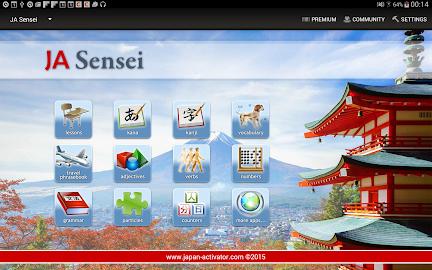 JA Sensei - Learn Japanese Screenshot 9